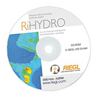 RiHYDRO Hydrography Laser Scanning Software